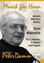 Johann Melchior Molter: Drei Märsche
