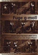 Johann Sebastian Bach: Fuge g-moll BWV 531a