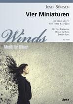 Josef Bönisch: Vier Miniaturen