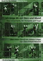 Claus-Erhard Heinrich (arr.): Ich singe dir mit Herz und Mund