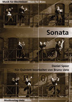Daniel Speer: Sonata