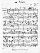 Wolfgang Amadeus Mozart: Ave Verum Corpus