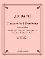 Johann Sebastian Bach: Violinkonzert d-Moll BWV 1043