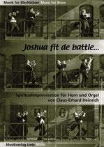 Claus-Erhard Heinrich (arr.): Joshua fit the battle ob Jericho