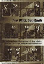 Claus-Erhard Heinrich (arr.): Two Black Spirituals
