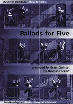 Thomas Forkert (arr.): Ballads for Five