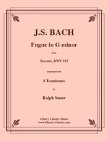 Johann Sebastian Bach: Fugue in G minor