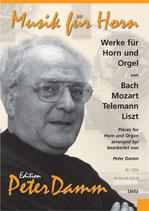 Peter Damm (arr.): Werke für Horn und Orgel