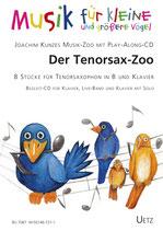 Joachim Kunze: Der Tenorsax-Zoo