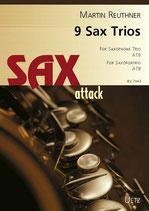 Martin Reuther: 9 Sax Trios