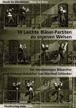 Manfred Schlenker: 10 leichte Bläser-Partiten