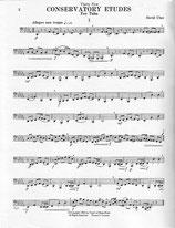 David Uber: 35 Conservatory Etudes