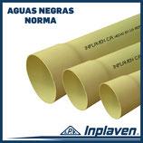 Tuberia para Aguas Negras Estandar (Norma)