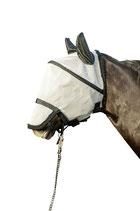 Masque anti-mouches, protection naseaux détachable HKM