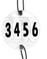 Numéros d'affichage, 1 paire, réglable HKM
