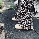 flared leopard