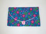Haarspangen-Tasche  Blumen (HT6/10)