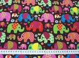 Baumwoll-Jersey Elefanten (J11)