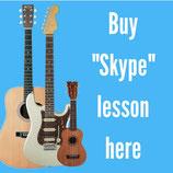 "Guitar or Ukulele lessons via ""Skype"""