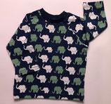 Longarm-Shirt Elefanten