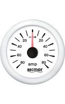 AMPEROMETRO + - 80 AMPEROMETRO RECMAR