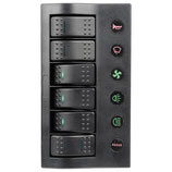 Pannello elettrico PCP Compact 6 interruttori - 7371-06