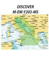 C-MAP Discover M-EM-Y203-MS Adriatico & Ionio - 50.830.11