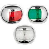 FANALE ABS BIANCO LED 12/24V