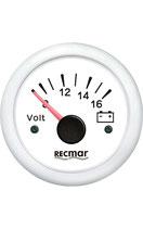VOLTIMETRO 8-16V RECMAR