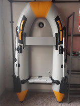 Gommone AZeDa 270 cm. Chiglia Pneumatica tubolari 42 cm