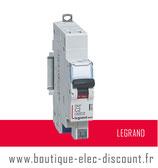 Disjoncteur LEGRAND 2A sans vis Réf 406780