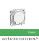 Double Va et Vient blanc réf S520214