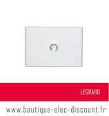 LEGRAND Porte Opaque Coffret DRIVIA 18M 1R Réf 401231