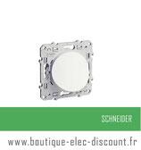 Sortie câble Blanc à vis 16A  réf S520662