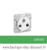 Prise TV/FM/SAT 2entrées réf S520460
