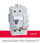 Interrupteur différentiel 63A 30mA AC Réf 411633 Legrand