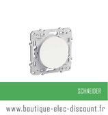 double poussoir blanc réf S520216