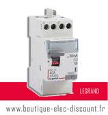 Int.dif. 40A 30mA AC Réf 411611 Legrand
