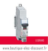 Disjoncteur LEGRAND 10A sans vis Réf 406782