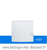 Porte opaque pour PC Réf GP112PN Hager