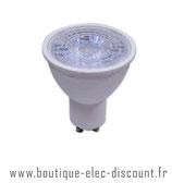 Ampoule LED GU10 - 7W=45W - 3000K - 38°