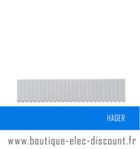 Obturateur en bande 18 Modules Réf JP015 Hager