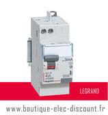 Interrupteur différentiel 40A 30mA AC Réf 411632 Legrand