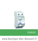 Int. diff. 40A 30mA A IDClicXE Réf 16158 Schneider