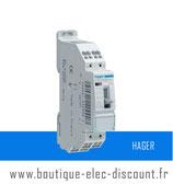 Contacteur J/N 20A 2F 230V Réf ETS221B Hager