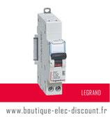 Disjoncteur LEGRAND 32A sans vis Réf 406786