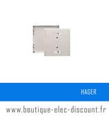 Panneau contrôle40mm Quickfix Réf GA040N Hager