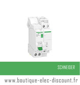 Combiné Disjoncteur + Télérupteur Resi9 XP TL 1P+N 16A Courbe C Réf R9ECL616 Schneider