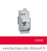Interrupteur différentiel 63A 30mA type A Réf 411651 Legrand