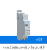 Télérupteur silencieux 1F 230V Réf EPS410B Hager